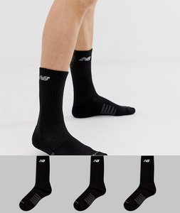 Read more about New balance 3 pack crew socks in black n5050-801-3eu blk - black