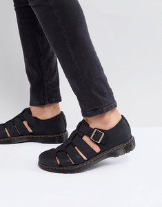 Read more about Dr martens revive fenton closed sandals in black - black