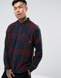 Read more about Element buffalo flannel shirt in red check - red