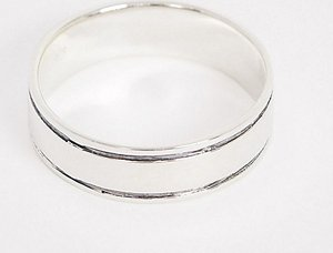 Read more about Designb band ring in sterling silver