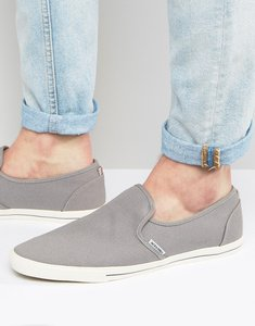Read more about Jack jones snake slip on plimsolls - grey