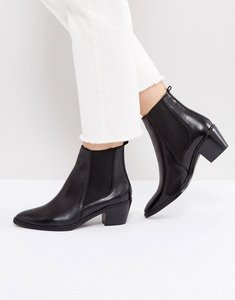 Read more about H by hudson leather ankle boots - black leather