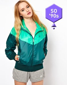 Read more about Nike windrunner jacket - green