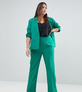 Read more about Unique 21 hero plus relaxed trousers co-ord - green