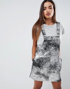 Read more about Blank nyc metallic mini dress - silver