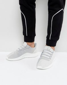 Read more about Adidas originals tubular shadow trainers in grey by3570 - grey