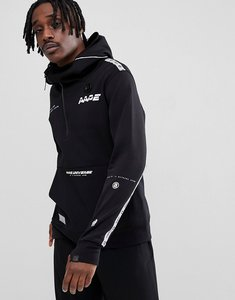 Read more about Aape by a bathing ape hoodie with large front pocket - black