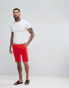 Read more about Asos jersey pyjama short with branded waistband - crimson
