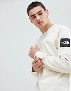 Read more about The north face fine 2 crew neck sweat in vintage white - white