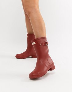 Read more about Hunter original tour short wellington boot - red