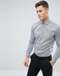 Read more about French connection oxford weave slim fit shirt - blue