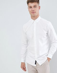 Read more about Produkt smart shirt in slim fit stretch - white