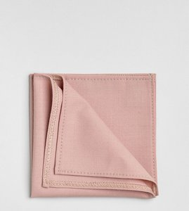 Read more about Noak pocket square - dusty pink