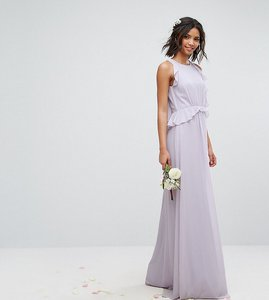 Read more about Tfnc wedding frill detail maxi dress - lilac lustre