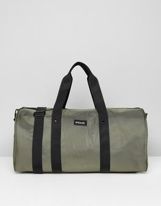 Read more about French connection nylon duffle bag in khaki - green