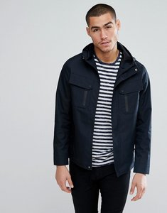 Read more about Brave soul lightweight hooded jacket - navy