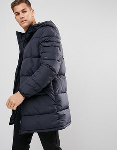 Read more about Esprit long padded coat in navy - navy400