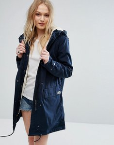 Read more about Parka london elisa cotton parka jacket - navy