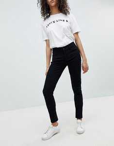 Read more about Levi s line 8 mid rise super skinny jean - black sheep