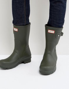 Read more about Hunter original short wellington boots - green