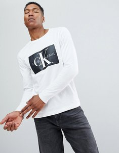Read more about Calvin klein jeans long sleeve t-shirt with reissue box logo