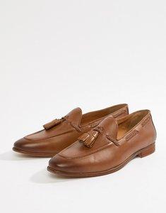 Read more about Kg by kurt geiger rochford tassel loafers - tan