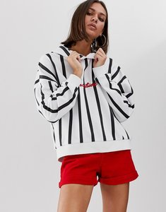 Read more about Uncivilised ref stripe logo hoodie