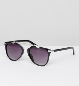 Read more about Pieces brow bar sunglasses - black silver