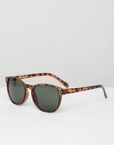 Read more about Aj morgan clear frame square retro sunglasses - tort