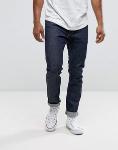 Read more about Levis 50th anniversary 505c slim straight fit jeans gold stitch selvedge - navy