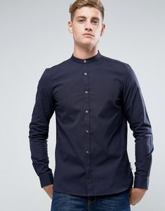 Read more about French connection slim fit grandad shirt - navy