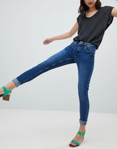 Read more about Pieces five high waisted skinny jeans - 12 a 24 a 24 c