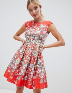 Read more about Closet london scatter floral dress - multi
