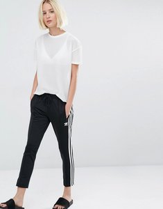 Read more about Adidas originals three stripe cigarette trousers - black