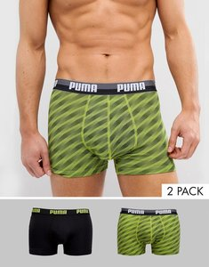 Read more about Puma 2 pack boxer - green