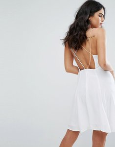 Read more about Little white lies odette cross back dress - white