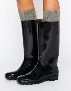 Read more about Asos gransta wellies - black