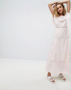 Read more about Paul joe sister frill maxi dress - light pink