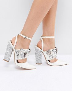 Read more about Asos papaya bridal embellished heels - ivory