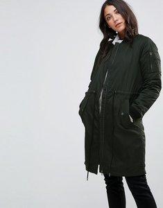Read more about Only ella long bomber jacket - jet set