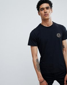Read more about Versace jeans t-shirt in black with small logo - black