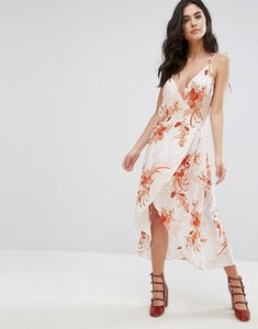 Read more about Mink pink lolita floral wrap dress - multi