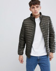 Read more about Esprit ultralight thinsulate puffer jacket in khaki - khaki