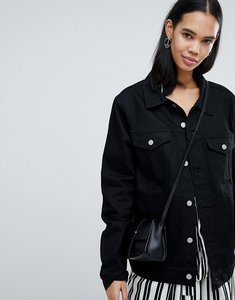 Read more about Weekday single trucker jacket - unwashed black