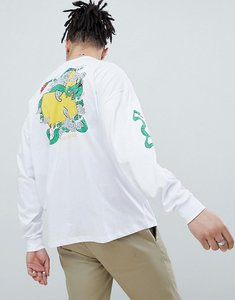 ca5276daf9d0b Read more about Asos design wu tang clan oversized long sleeve t-shirt -  white