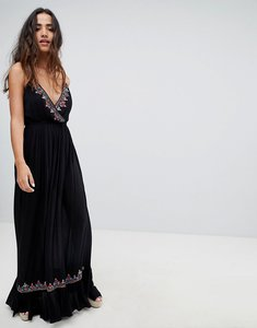 Read more about Raga bandita embroidered maxi dress - 12 black