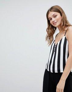 Read more about Bershka block stripe cami top - multi