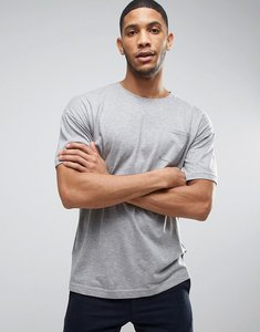 Read more about Bellfield t-shirt with drop shoulder and pocket - grey marl
