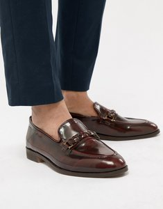 Read more about House of hounds blain bar loafers in burgundy - red