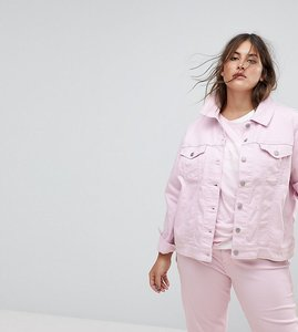 Read more about Levi s plus original trucker jacket - soft light lilac